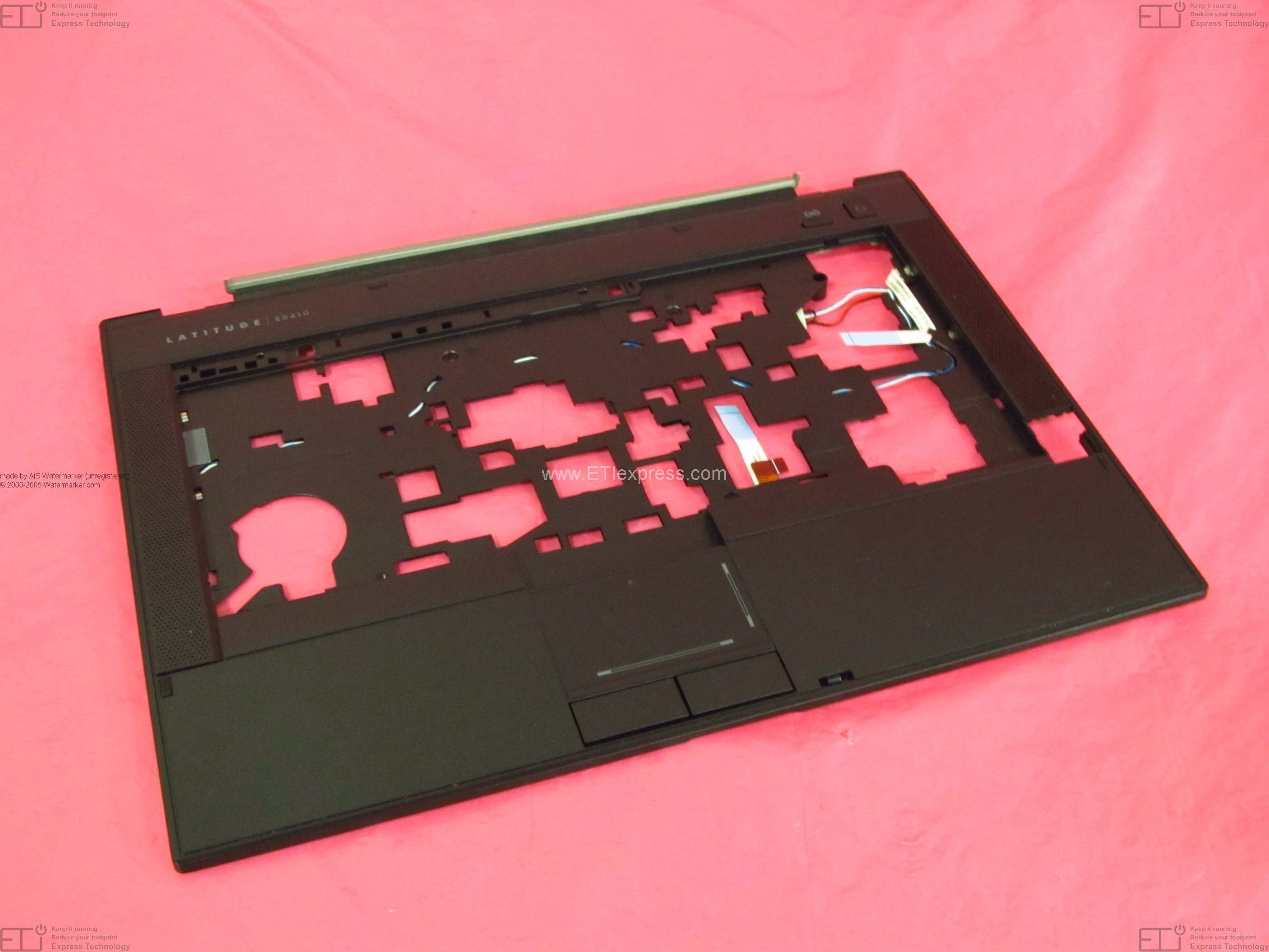 XX279 Dell Latitude E6500 15.4 Dual CCFL LCD Top Back Cover Lid Assembly with Hinges XX279 Grade B CP219