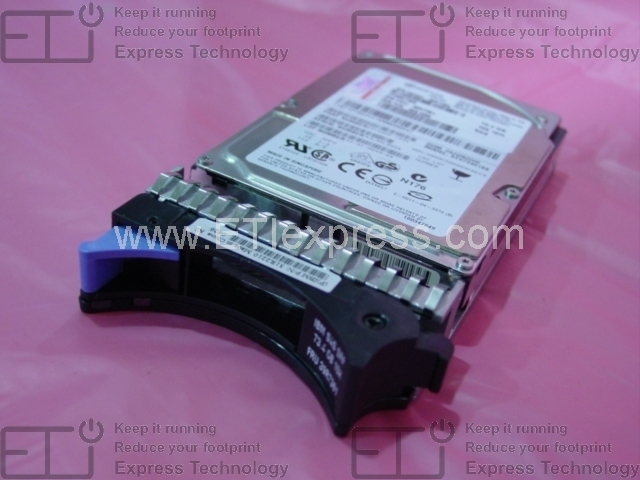 SCSI 15000 rpm 8 MB Buffer IBM-IMSourcing 36.40 GB 3.5 Internal Hard Drive 40K1026 IBM Hot Swappable