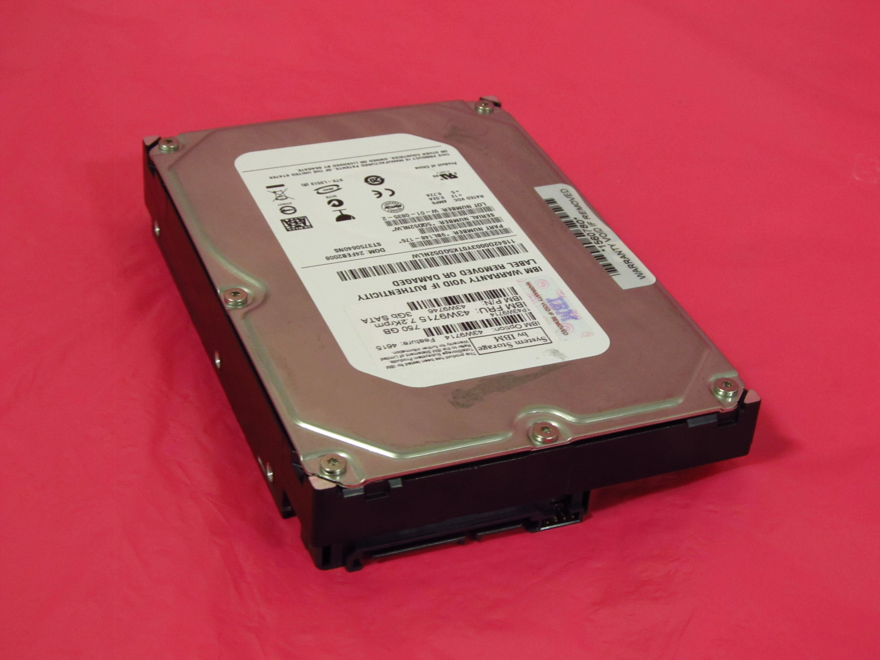 removable SAS 3.5 IBM 39R7352 IBM 73.4 GB