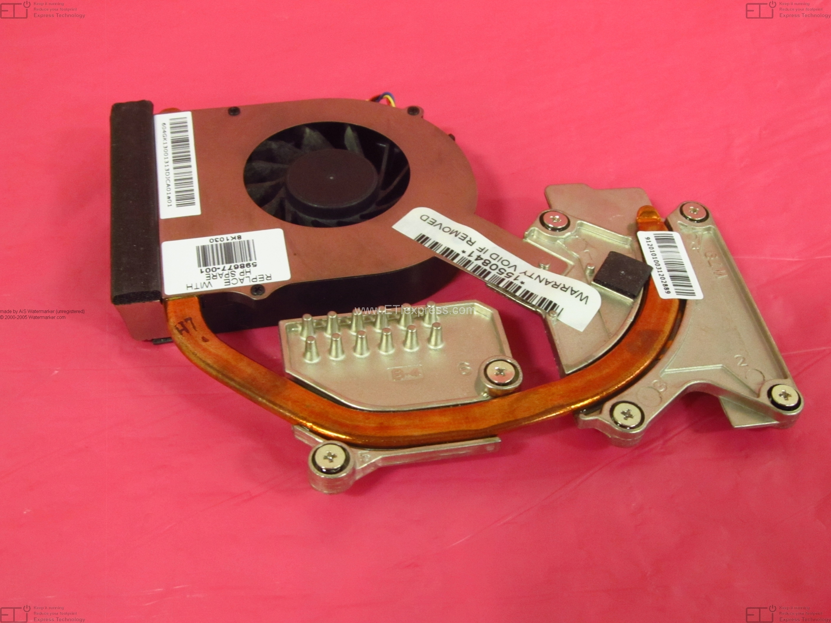 456606-001 Hewlett-Packard 6820s Series CPU Heatsink