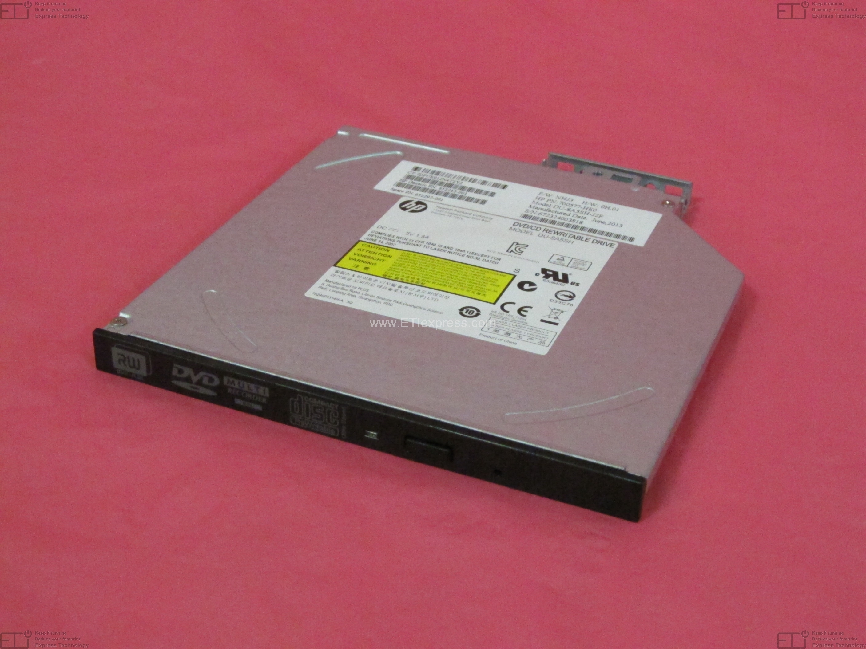 278026-001-ref Hp Refurbished 24x Ide Cd-rom