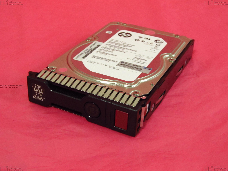 hard drive Renewed HP 432496-001 500GB hot-plug Serial ATA SATA front loading 7,200 RPM