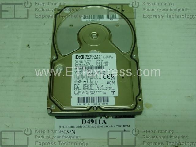 P4507-69001 36.4Gb 15000Rpm Ultra-Wide Scsi3 New Bulk Hard Drive
