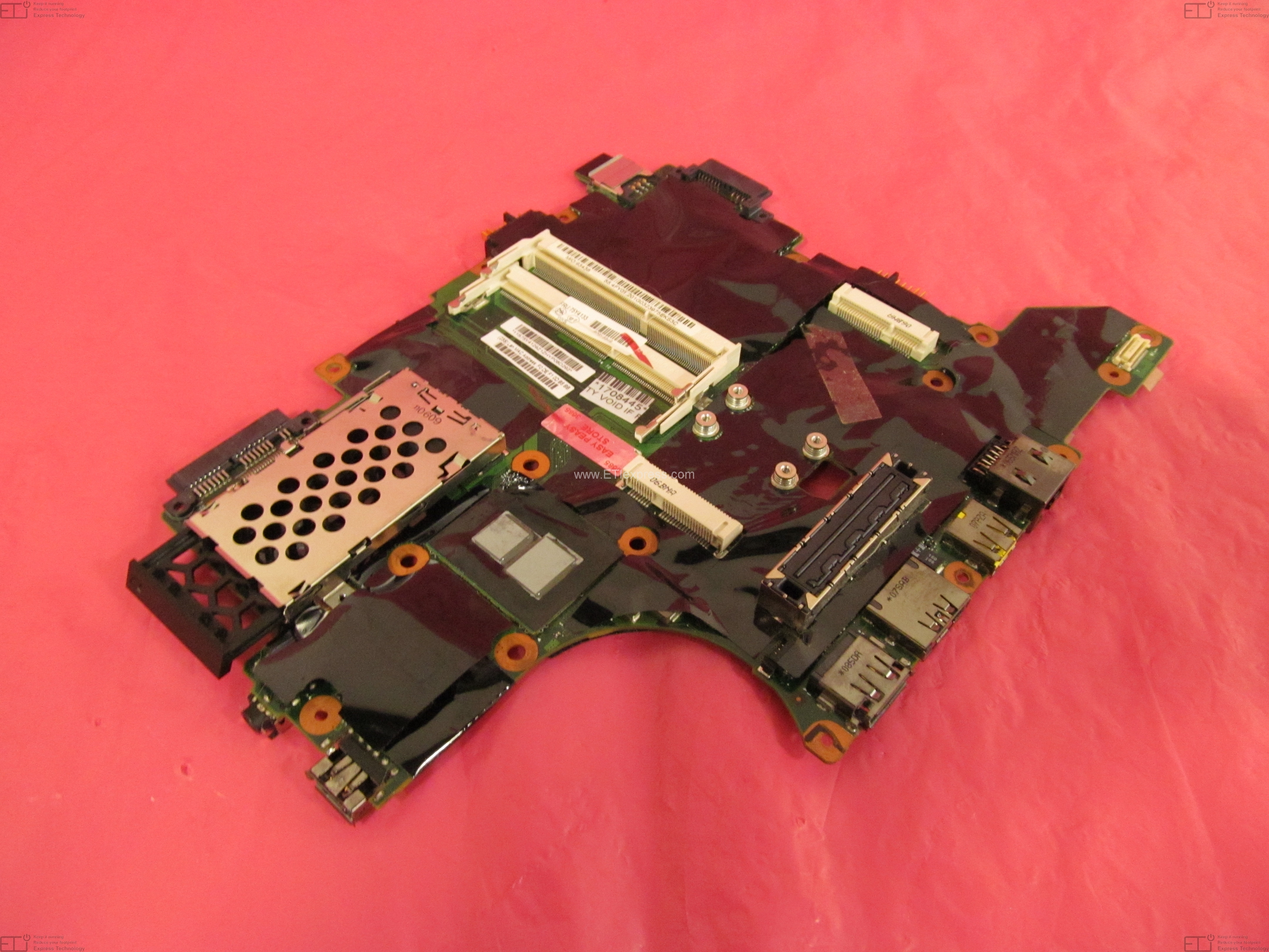 Refurbished Motherboards Dell Motherboard Layout Xps M1210 75y4133 Thinkpad T410s