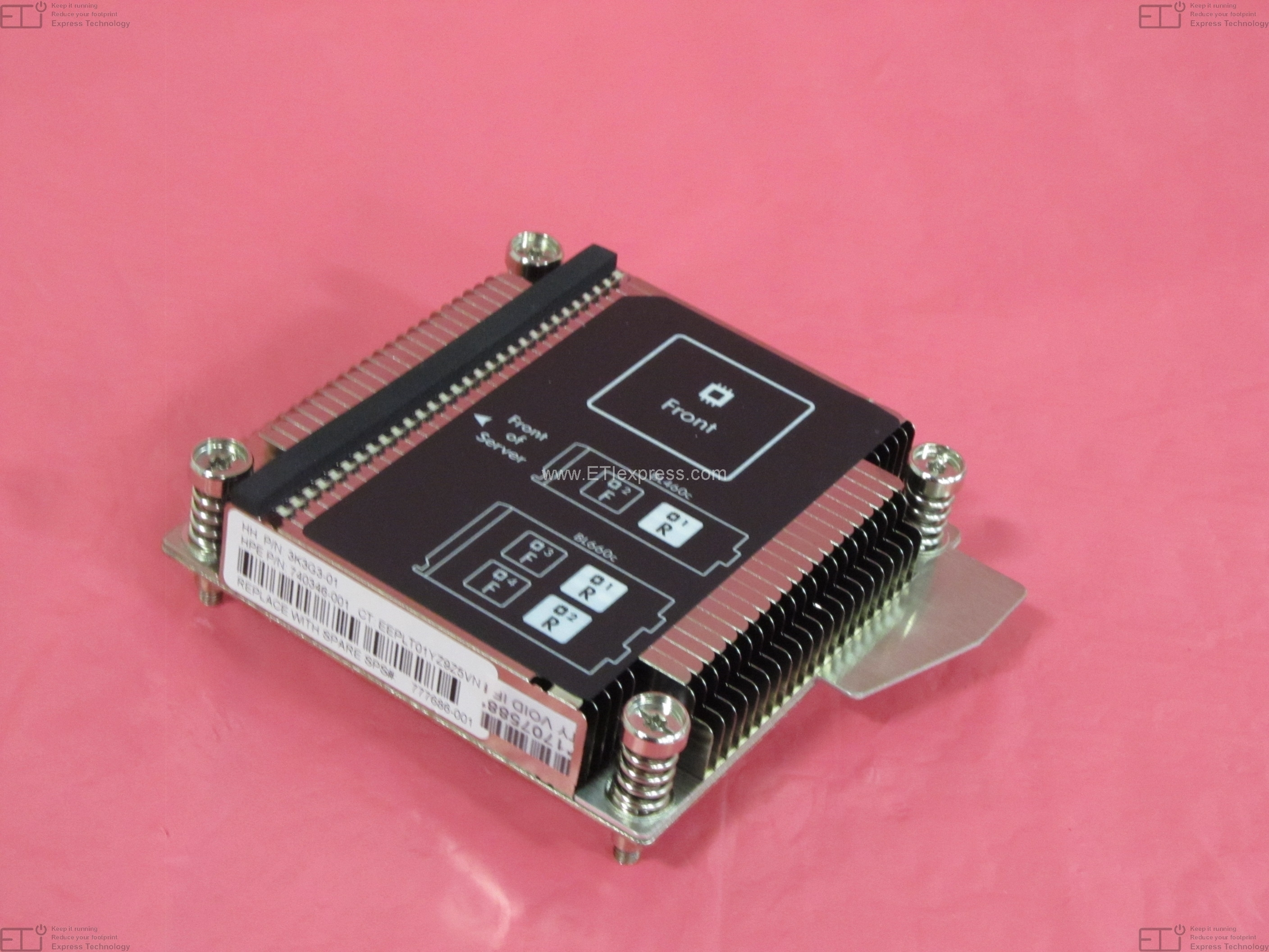 UMA HP 584305-001 Thermal fan and heat sink module