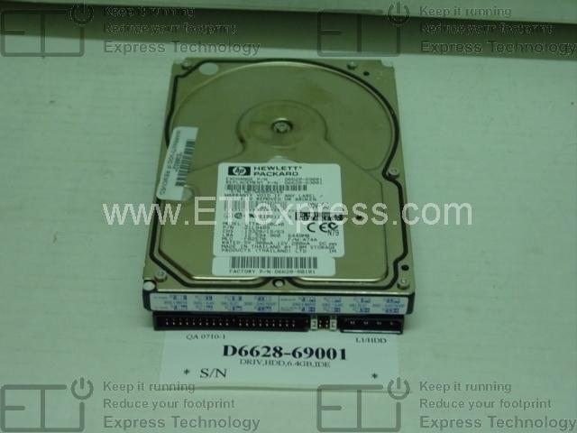 J6054a-R Hewlett-Packard 5Gb Eio Hard Drive P//N J6054a-R Hewlett-P