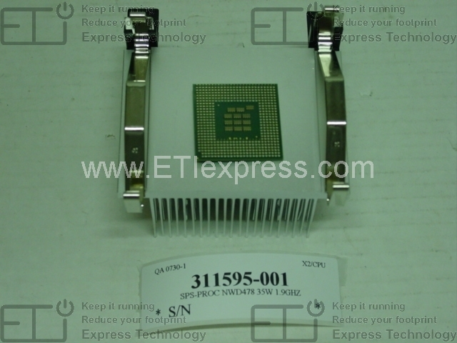 465326-B21 HP Xeon DP Quad-core L5410 2.33GHz Certified Refurbished Processor Upgrade 465326-B21