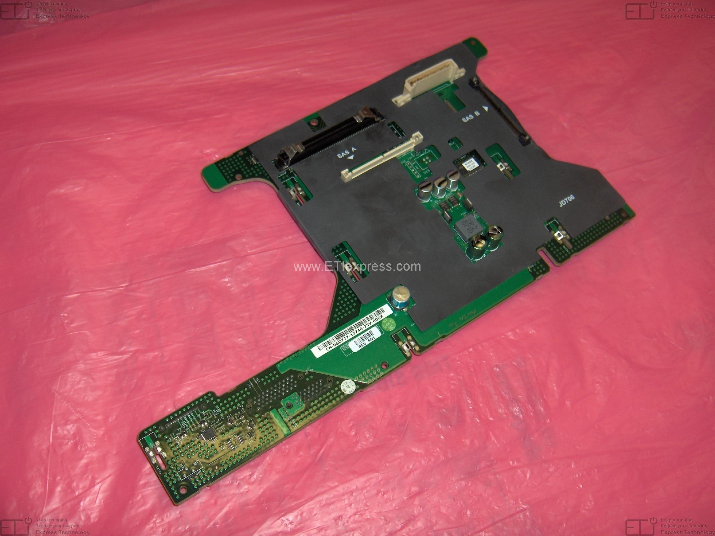 Rev A01 SASA PowerEdge 2950 DELL Board CN-0PN610-13740 Back Panel Board