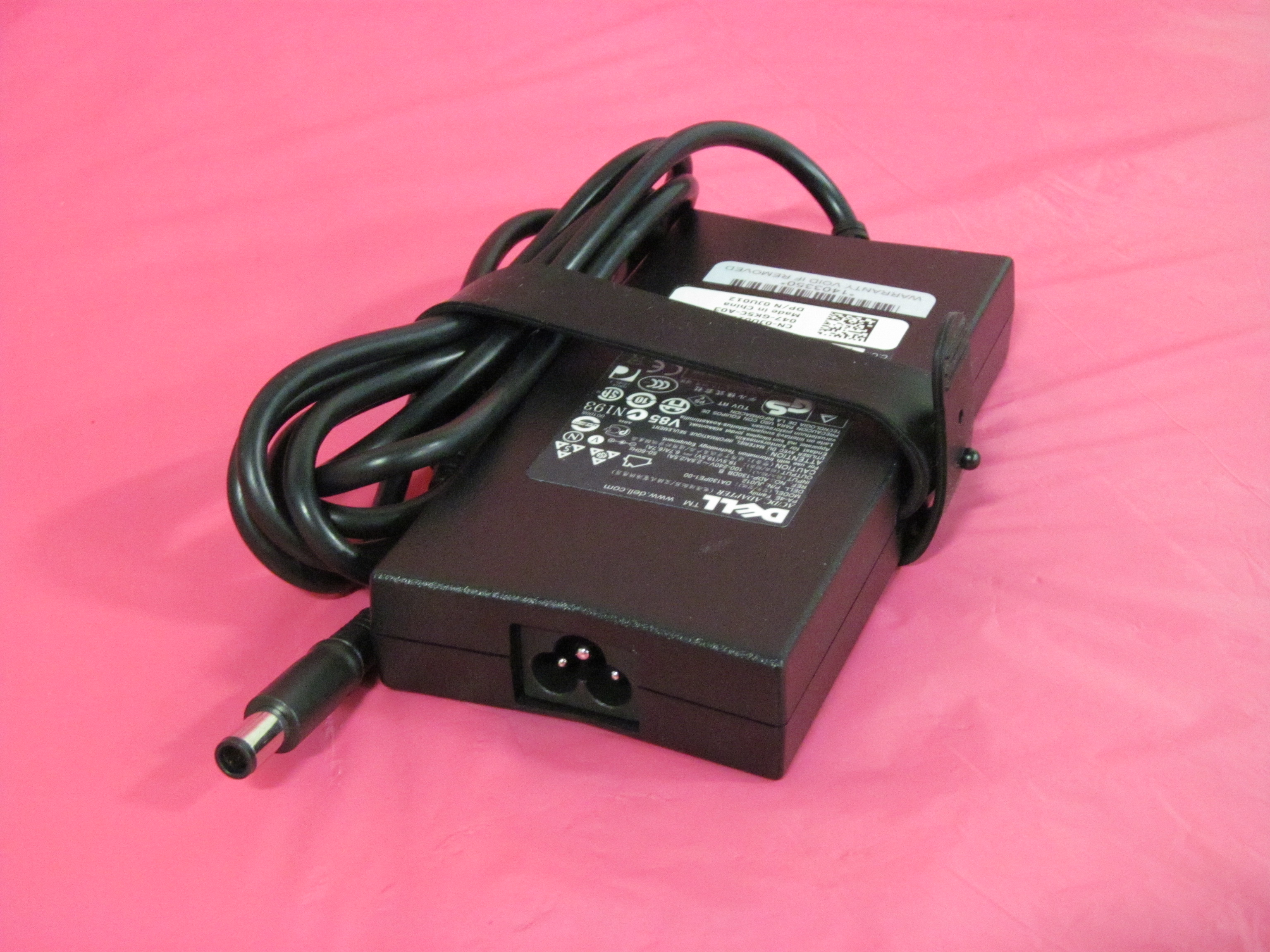 10 Dell 65W AC Adapters 928G4 6TM1C 9RN2C for Inspiron Latitude Genuine Grade A
