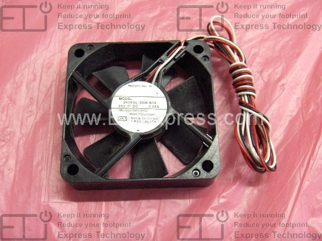 Fan that cools the cartridge and laser//scan FN301 RK2-1991-000CN Cooling fan