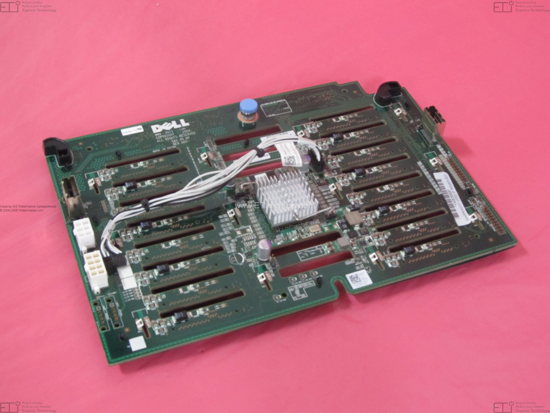 """Genuine OEM Dell MX827 PowerEdge R710 2.5/"""" x8 SAS Backplane"""