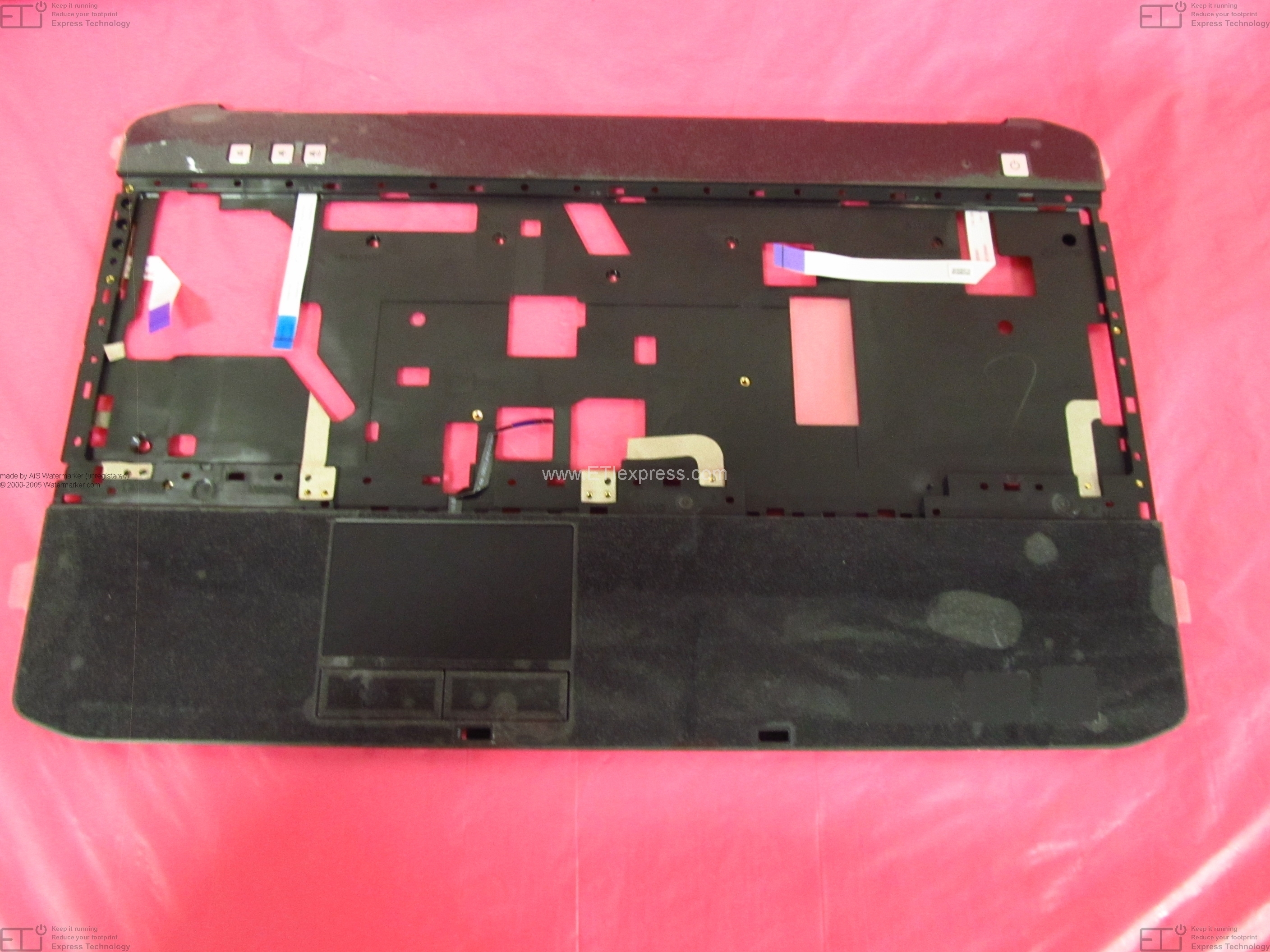 NW683-B Dell Vostro 1500 15.4` LCD Back Cover w// Lid /& Hinges Assy GRADE B